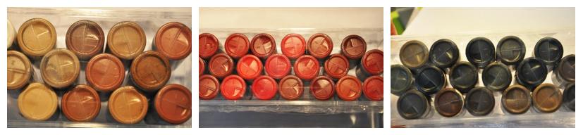Quelle est la nature des pigments utilisés en dermopigmentation ?