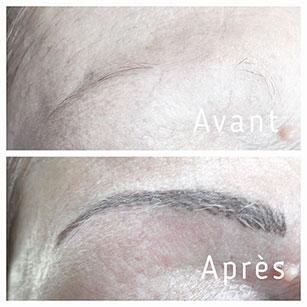 maquillage permanent sourcils à lyon
