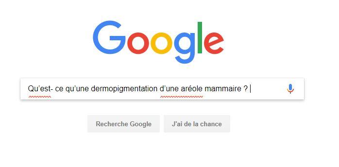 Qu'est- ce qu'une dermopigmentation d'une aréole mammaire ?